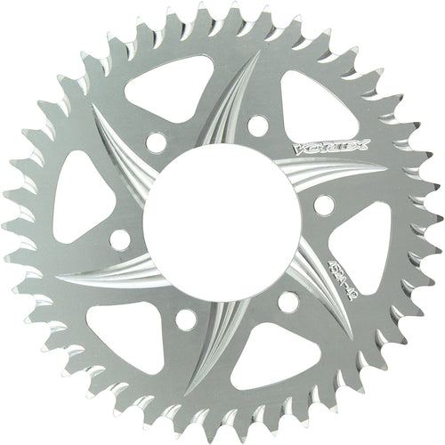 Vortex 452A-42 Silver 42-Tooth 520-Pitch Rear Sprocket