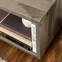 Load image into Gallery viewer, Walker Edison TV Stand - Rustic Grey - NEW IN BOX ($175 Incl Tax)