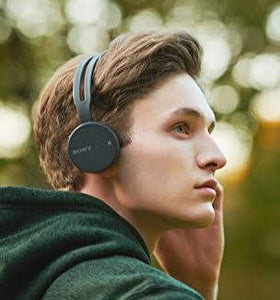 Sony WH-CH400 Bluetooth Wireless On Ear Headphones ($30 Incl Tax)