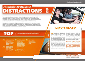 Distraction - A5 leaflet