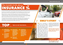 Load image into Gallery viewer, Insurance  - A5 leaflet