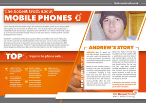 Mobile Phone - A5 leaflet