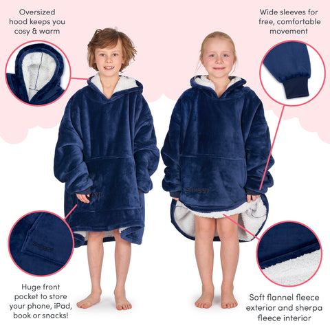 navy kids snuggy family