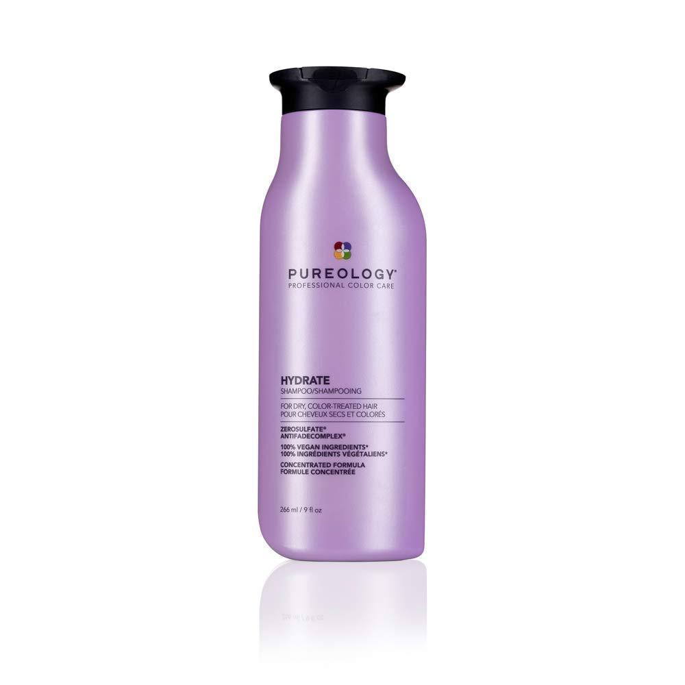 Pureology | Hydrate Moisturizing Shampoo | For Medium to Thick Dry, Color Treated Hair | Sulfate-Free | Vegan |