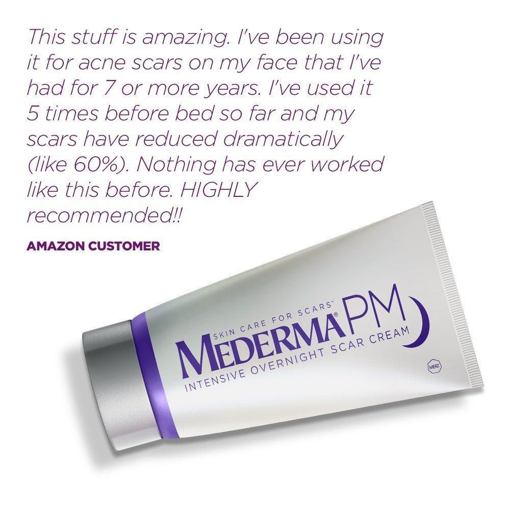 Mederma Pm Intensive Overnight Scar Cream Works With Skin S