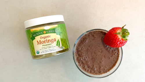 Moringa Berry Smoothie