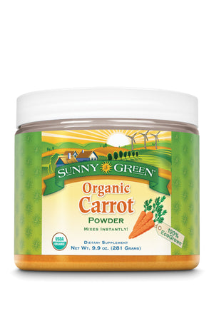 Carrot Powder, Organic - Unflavored