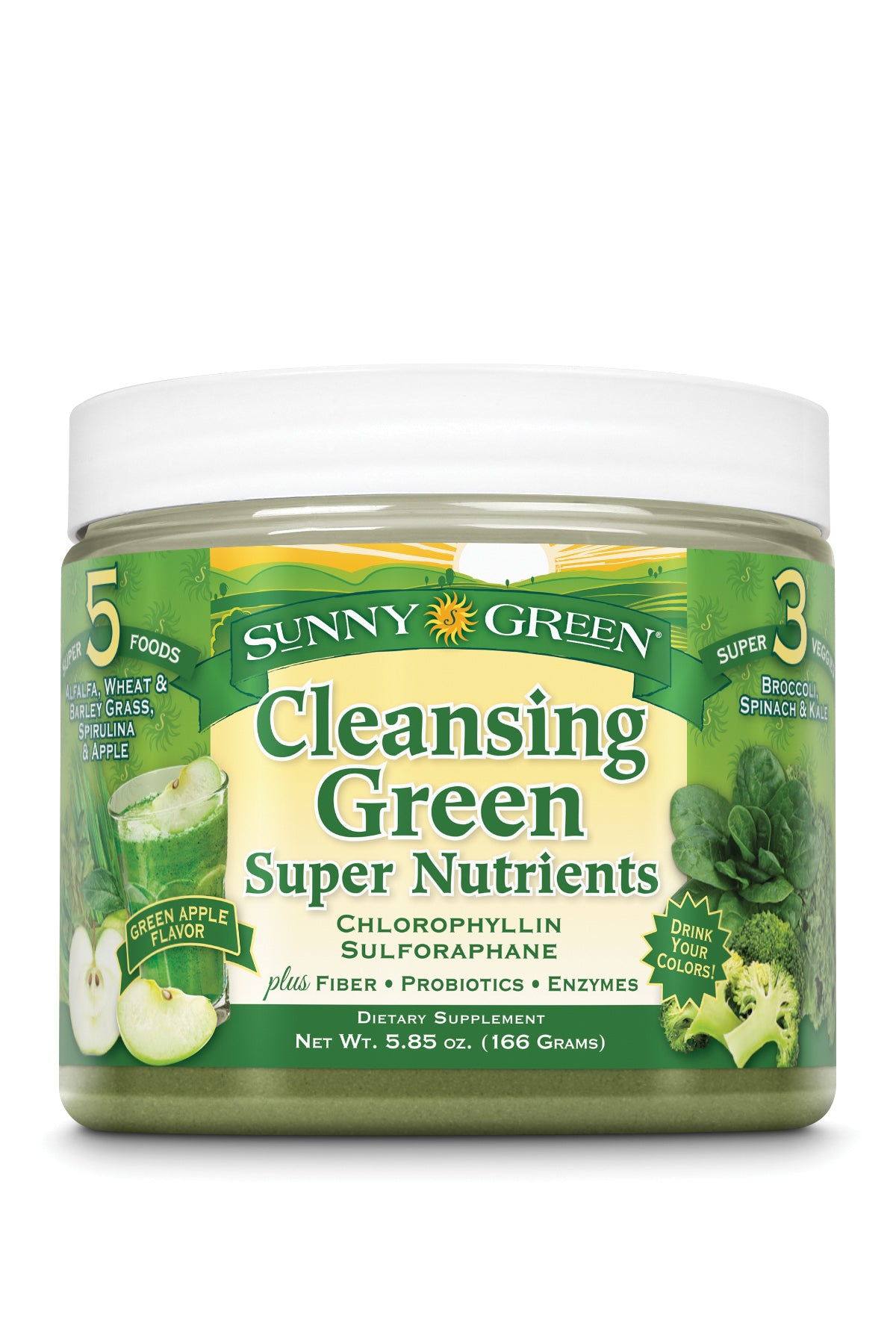 Cleansing Green - Green Apple