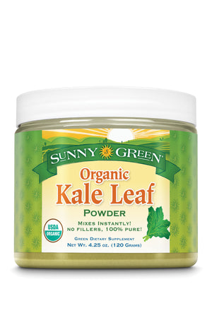 Kale Leaf Powder, Organic - Unflavored