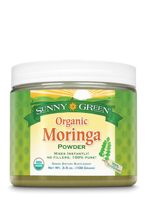 Moringa Leaf Powder, Organic - Unflavored