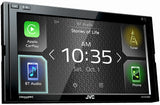 JVC KW-M730BT Android Auto / Apple CarPlay Digital Media Stereo Double DIN Apple CarPlay and Android Auto In-Dash Digital Media Car Stereo Receiver w/ Bluetooth