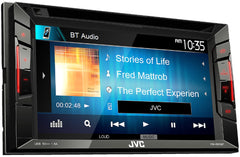 JVC KW-V240BT Double DIN Bluetooth In-Dash DVD/CD/AM/FM/ Car Stereo