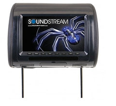 Soundstream VH-70CC Universal Headrest w/ 7? LCD & 3 Color Covers