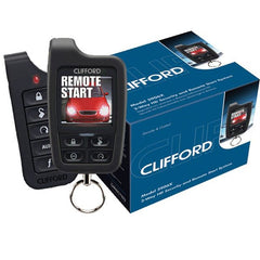 Clifford 5906X Color OLED 2-Way Security + Remote Start System