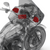 Rockford Fosgate HD9813RG-TKIT Power Series speaker and amp combo for 1998-2013 Harley-Davidson® Road Glide® motorcycles