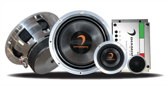 Diamond Audio Diamante Italia Edition 3-Way Component Speakers