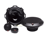 "Rockford Fosgate P152-S 5-1/4"" 2-way Punch Series Component Speakers System with Integrated Concealed Crossover"