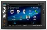 "Axxera AV6117B DVD receiver 6.2"" LCD touchscreen display built-in Bluetooth"