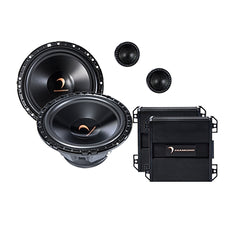"H65S 6.5"" 2-Way Components 25mm Silk Dome Tweeter"