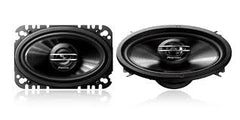 "Pioneer TS-G4620S 400W Max (60W RMS) 4"" x 6"" G-Series 2-Way Coaxial Car Speakers"