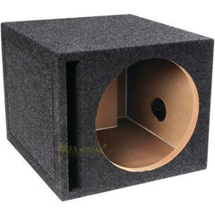 Bbox E12SV Pro Series 12-Inch Single Vented Subwoofer Enclosure, Charcoal
