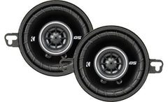 "Kicker DSC35 (43DSC3504) 160W Max (40W RMS) 3.5"" DS Series 2-Way Coaxial Car Speakers"