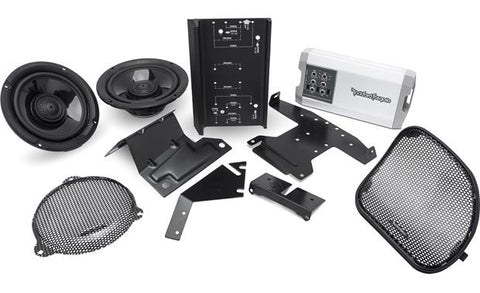 Rockford Fosgate HD14-TKIT Speaker and amp combo for select 2014-up on harley motorcycle stereo amplifier, harley crankcase, harley bluetooth interface, harley wiring color codes, harley stator wiring, harley tow bar, harley dash wiring, harley clutch diaphragm spring, harley headlight harness, harley timing chain, harley choke lever, harley belly pan, harley dash kit, harley headlight adapter, harley clutch rod, harley wiring connectors, harley wiring tools, harley trunk latch, harley banjo bolt, harley wiring kit,