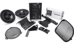 Rockford Fosgate HD14-TKIT Speaker and amp combo for select 2014-up Harley-Davidson® motorcycles
