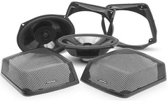 "Rockford Fosgate TMS69BL9813 6""x9"" 2-way speakers for 1998-2013 Harley-Davidson® motorcycles with hardshell bags"