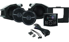 "Rockford Fosgate RZR-STAGE2 Stage 2 audio upgrade kit for Polaris RZR: includes receiver and a set of 6-1/2"" speakers"