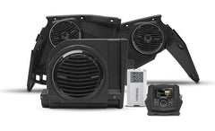 Rockford Fosgate X3-STAGE3 Stage 3 audio upgrade kit for Can-Am Maverick X3: includes receiver, 2 speakers, a 4-channel amplifier, and a subwoofer
