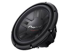 "Pioneer TS-W311S4 1400W 12"" Champion Series Single 4 ohm Car Subwoofer"