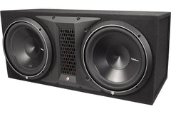 "Rockford Fosgate Punch P3-2X12 2400W Dual 12"" Punch P3 Series Loaded Subwoofer Enclosure"
