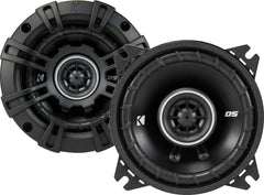 "Kicker DSC4 (43DSC404) 240W Max (60W RMS) 4"" DS Series 2-Way Coaxial Car Speakers"