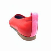 red and pink shoes for large feet