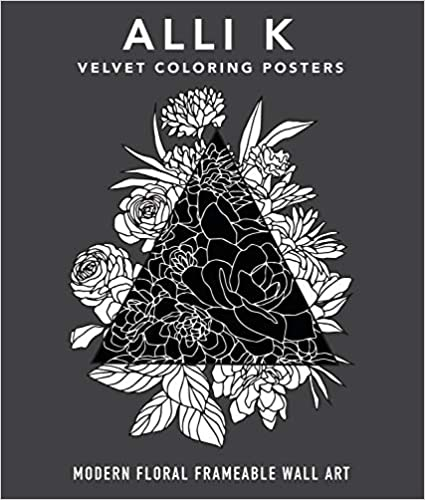 Velvet Coloring Posters box