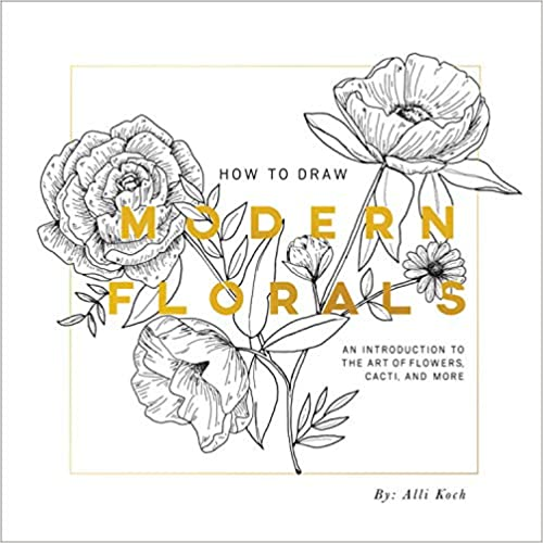 How To Draw Modern Florals PaperBack