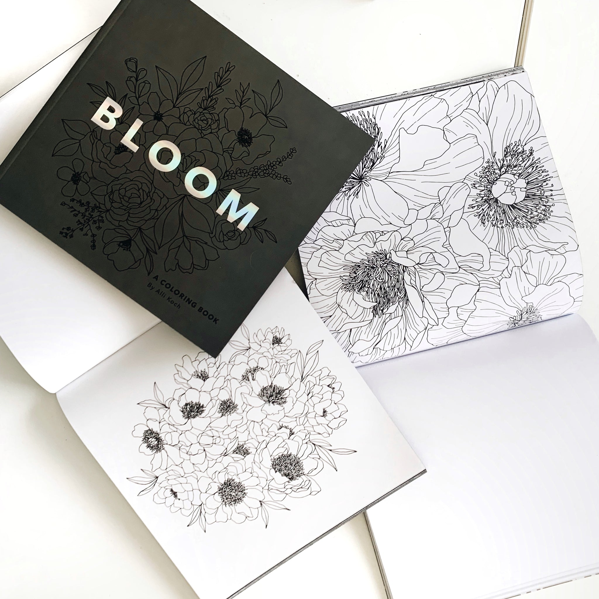 Bloom Coloring Book