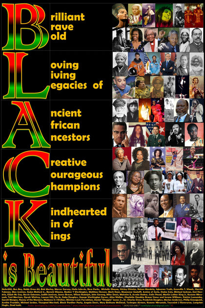Black History Posters, bookmarks, collector cards and and card games