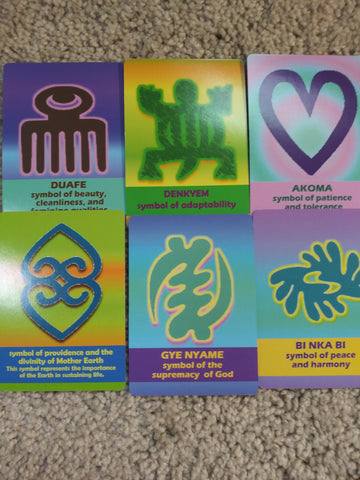 Adinkra Symbol Match Card Game