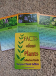 Facts about plants collector cards