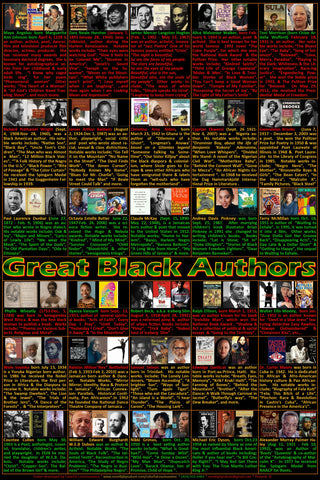 Great Black Authors poster