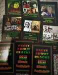 Black History Match Card Game - Black Activists edition, Black Activists match card game.