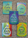 Positive Affirmation collector cards