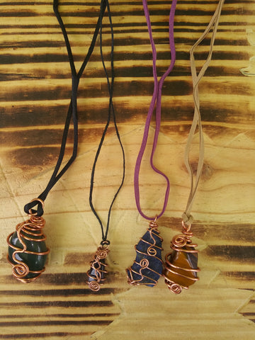 Wrapped Gemstones