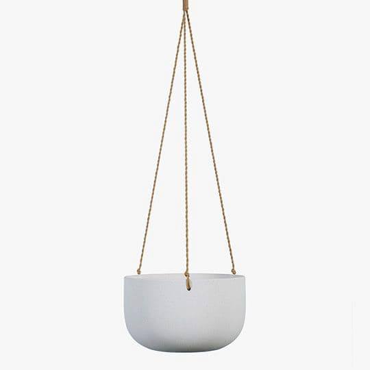 Hanging ceramic Bowl planter