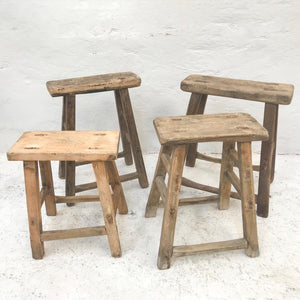 Chinese workers stool