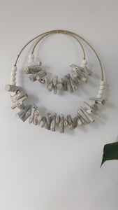 Driftwood 'MIA' wall hanging