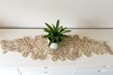 Jute table runner Natural