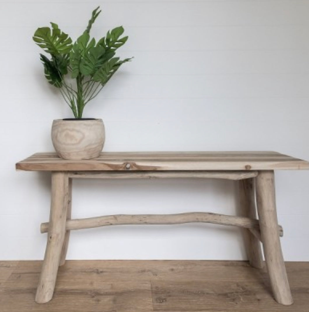 Timber attic bench